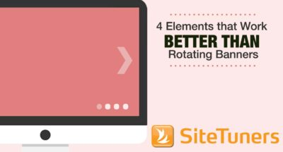 4 elements that work better than rotating banners
