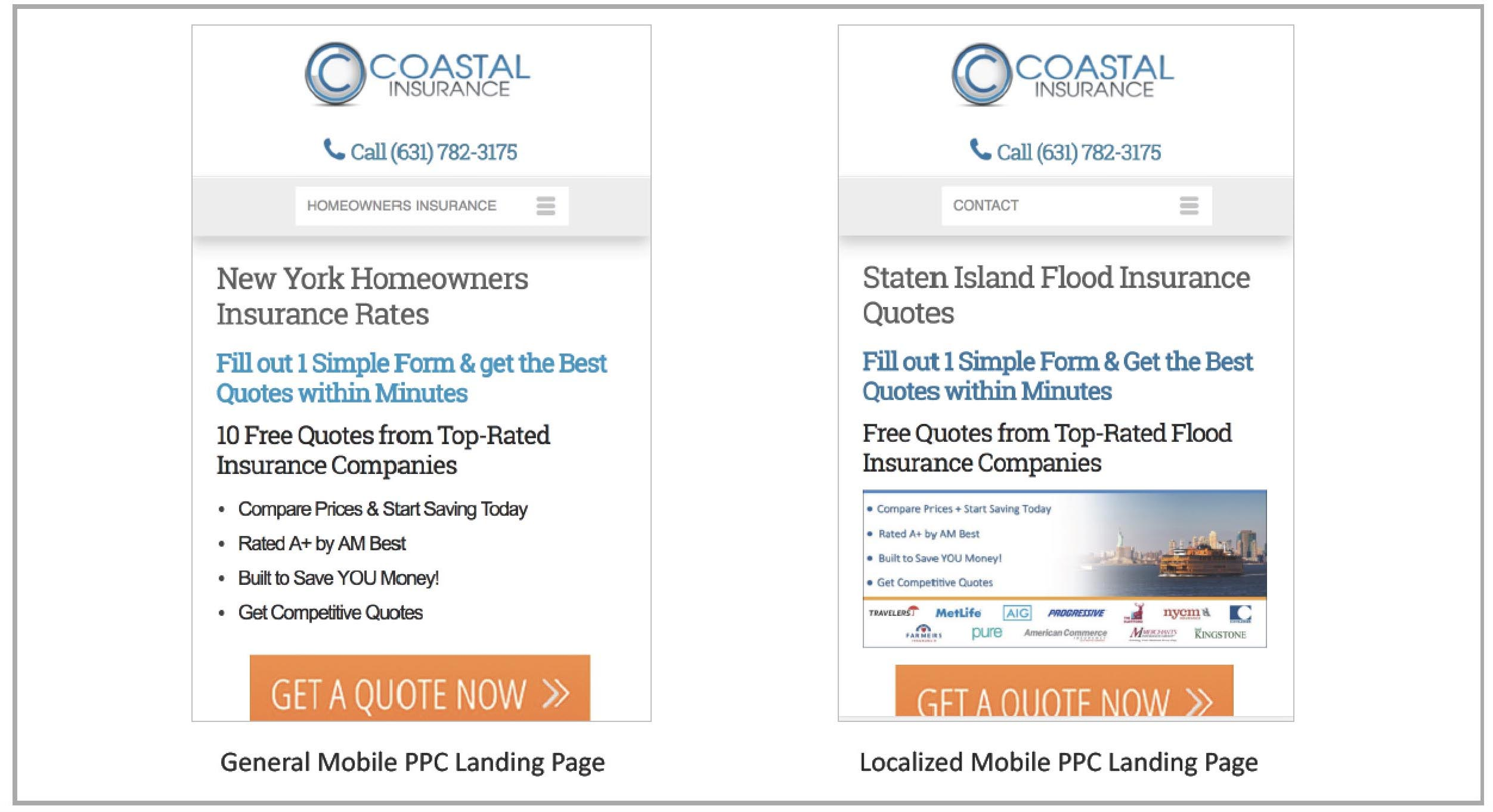Coastal-General-Mobile-PPC-Landing-Page-and-Localized-Mobile-PPC-Landing-Page