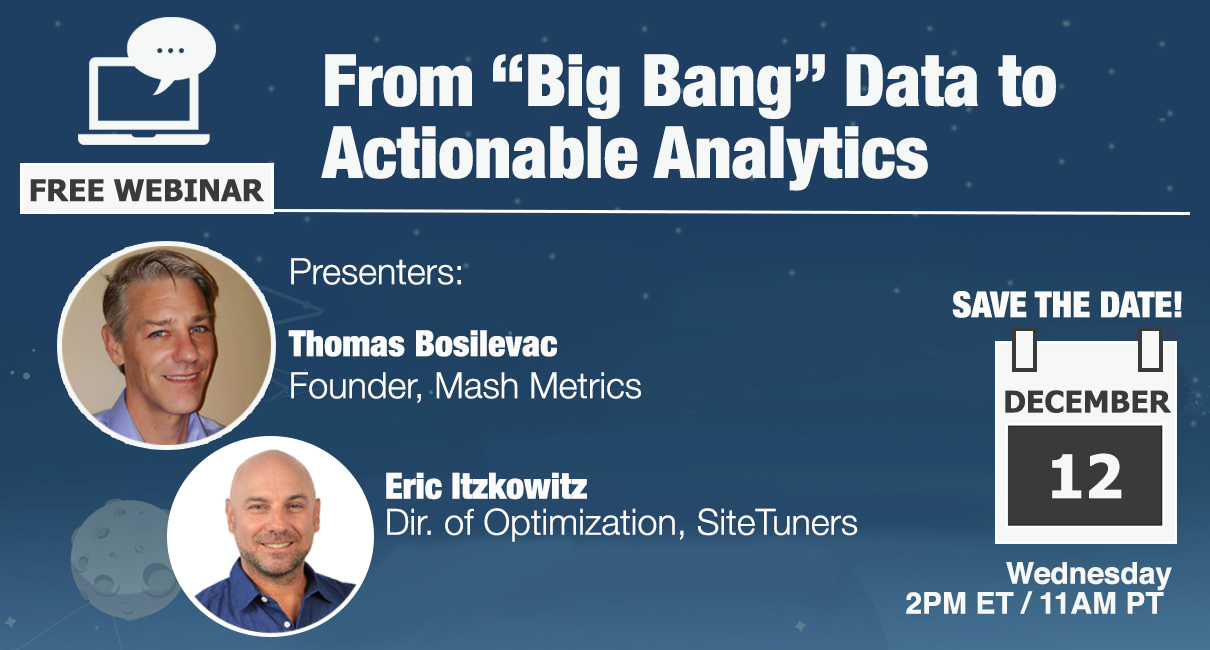 From Big Bang Data to Actionable Analytics-1
