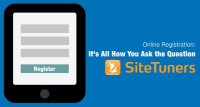 Online Registration- It's All in How You Ask the Question