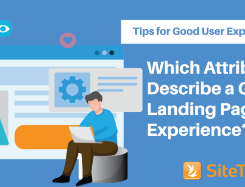 Which Attributes Describe a Good Landing Page Experience – Tips for Good User Experience –