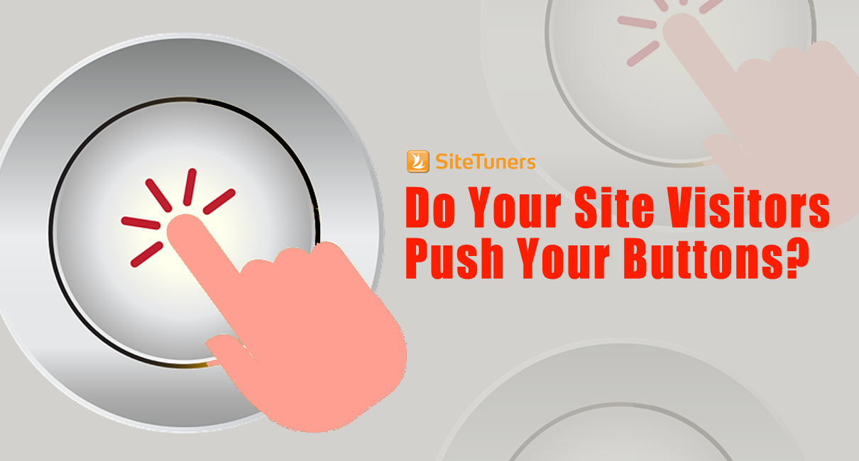 do your site visitors push buttons