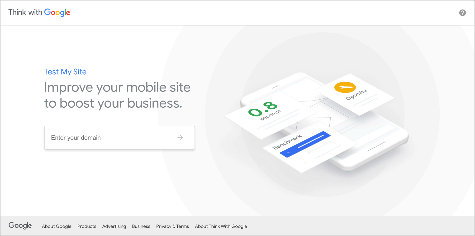"""google's """"test my site"""" above-the-fold content"""