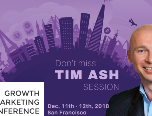 Catch Tim Ash at Growth Marketing Conference 2018