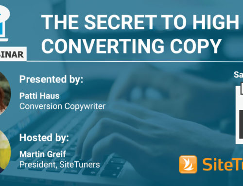 FREE Webinar: The Secret to High Converting Copy