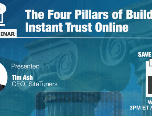 FREE Webinar: The Four Pillars of Building Instant Trust Online